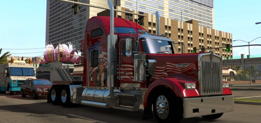 American Truck Simulator Gameplay