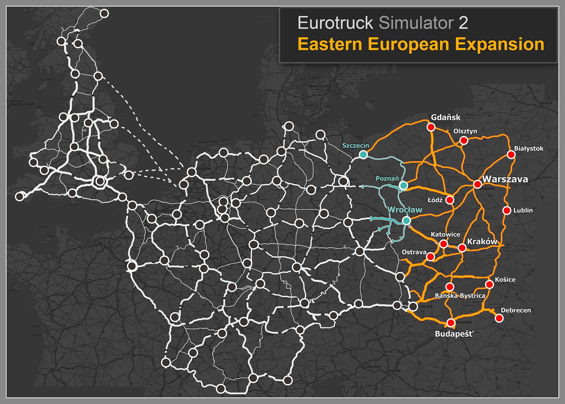 Euro Truck Simulator 2 Going East Ekspansja Polska
