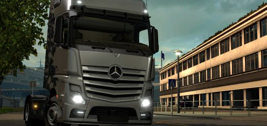 Mercedes-Benz w Euro Truck Simulator 2